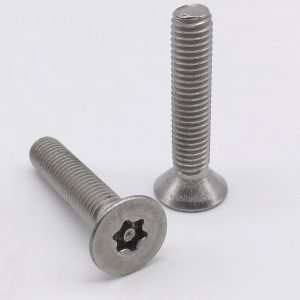 flat head tork screws