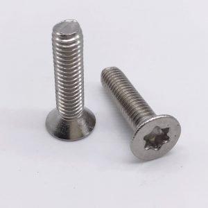 flat torx screws