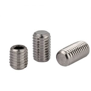 socket set screw flat point