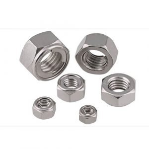 metal self lock nuts