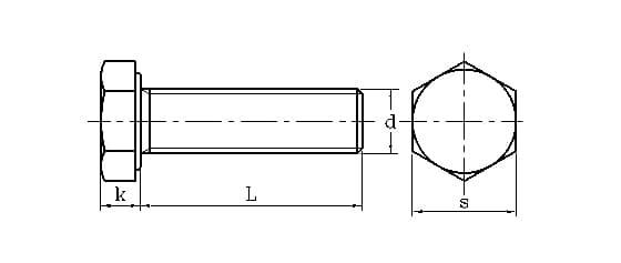 DIN933 drawings